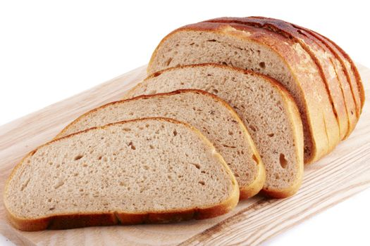 Delicious, fresh, home-made whole wheat bread.