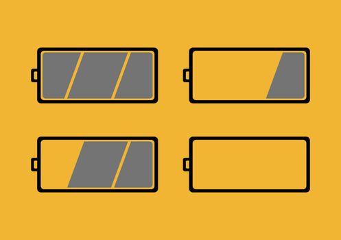 Battery Level Symbols