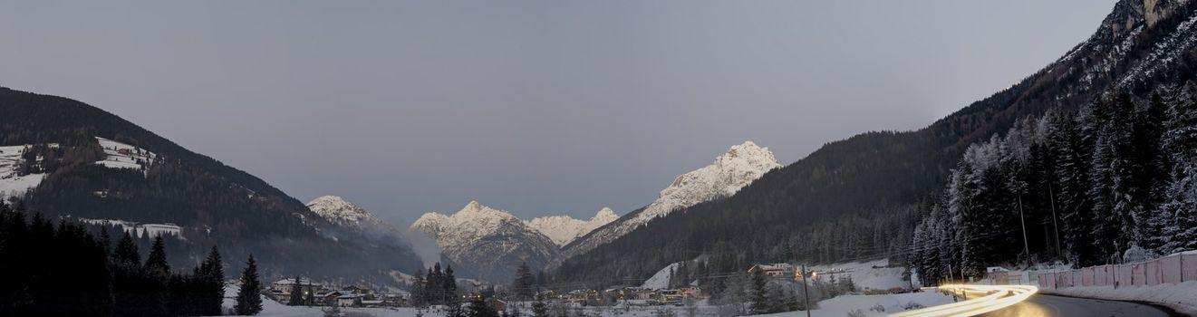 Panoramic View of Santo Stefano di Cadore, Dolomites
