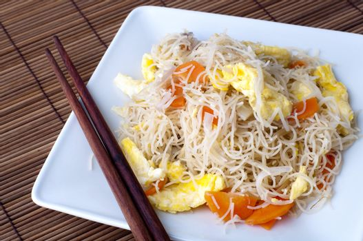 Fried rice vermicelli