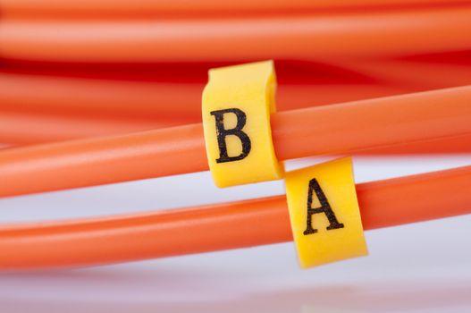 Fibre Optic Network Cables.