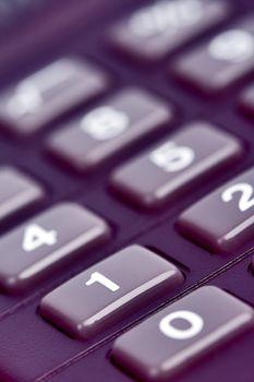 �alculator keypad