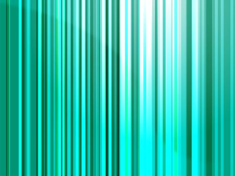 Abstract wallpaper illustration of glowing wavy streaks of multicolored light