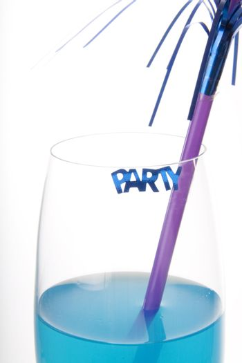 Blue party drink