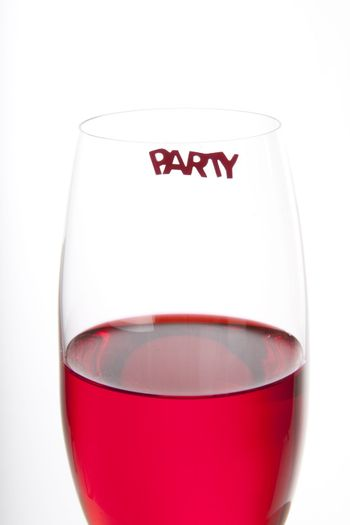 Red party drink