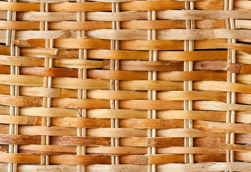A light colored seamless wicker backet background.  This background will repeat forever if tiled.