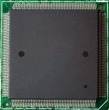 Processor on circuit board