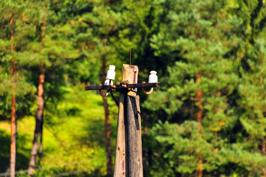 Telephone Landline Pole