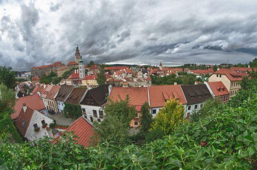 Cesky Krumlov Medieval Architecture and its Vltava River