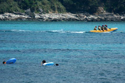 Banana Boat - Tokashiki Island, Okinawa, Japan