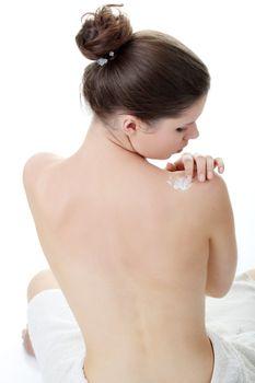 Skincare concept