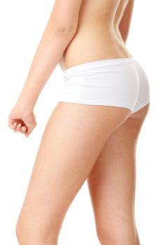 classical image of voluptuous female curves