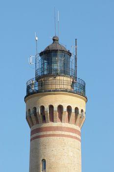 Lighthouse in Swinoujscie, Poland. July 2005.