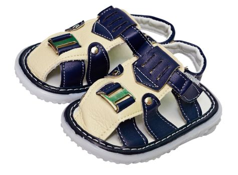 Baby leather sandal