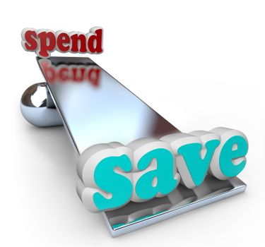 Save Money on Scale for Financial Fiscal Responsibility
