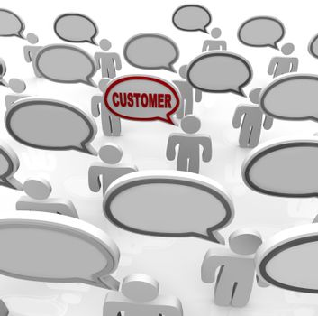 One Niche Customer in Crowded Marketplace