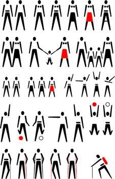Poeple pictogram