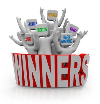Winners - People with Teamwork Qualities