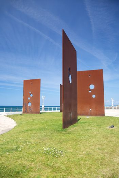 public monument in Gijon