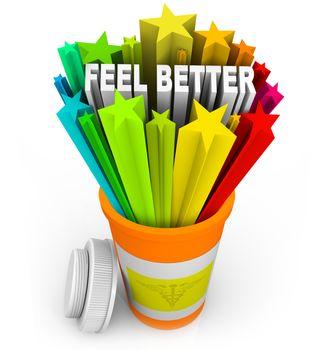 Feel Better - Prescription Medicine Beats Sickness