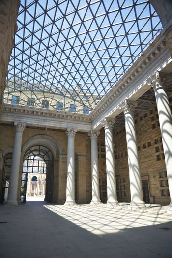 skylight and great colonnade