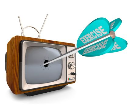 Exercise - Reduce TV Watching and Get Physically Fit