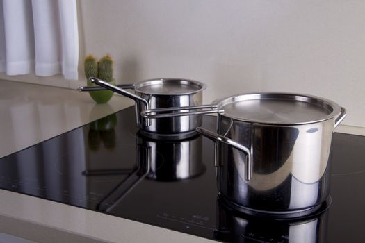 Two sauce pans