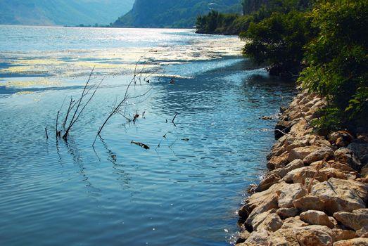 Danube riverbank