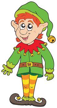 Cute Christmas elf