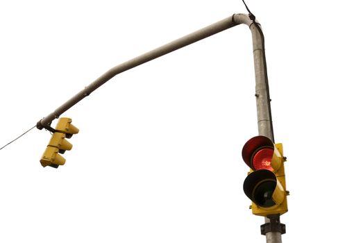 Odd traffic lights.