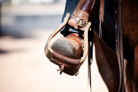 Boot in Stirrup
