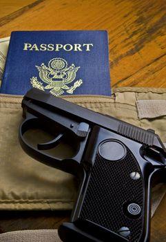 Pistol and Passport