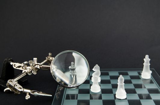 smoky glass chess
