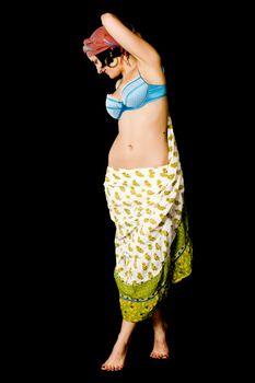 woman dances east dance