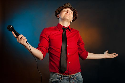 Proud singer