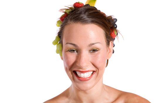 Happy fruity smile