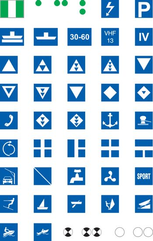 Waterway Signs, Informative