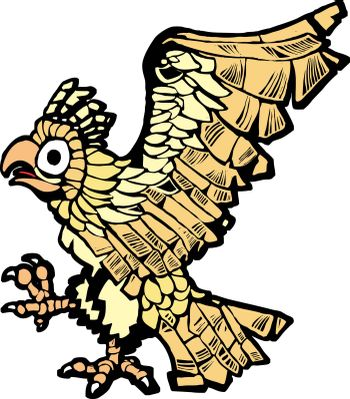 Aztec eagle that symbolized the founding of mexico city.