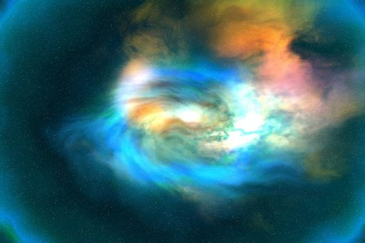 Cosmic space image of the universe.