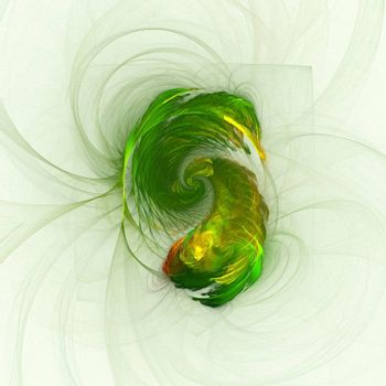 Abstract fractal design concept image.