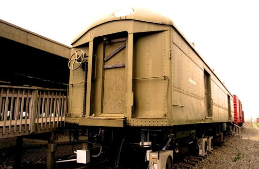 Old Train Compartments