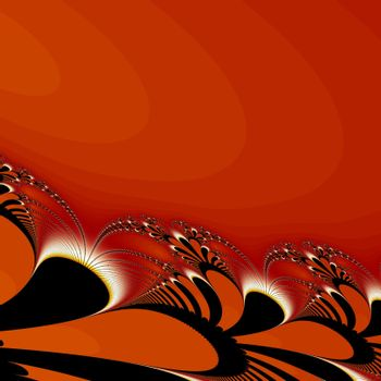 Abstract fractal design concept.