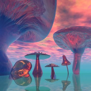 Fantasy world of the giants.