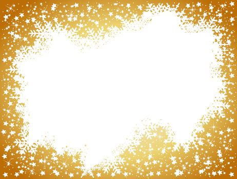 golden christmas background- space for your text