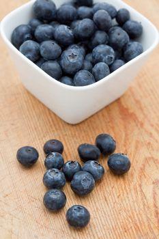 Delicious fresh blueberries