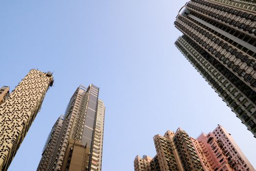 skyline of skyscraper