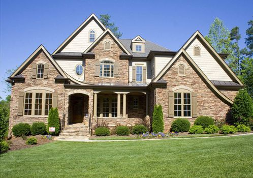 An American style residential home.