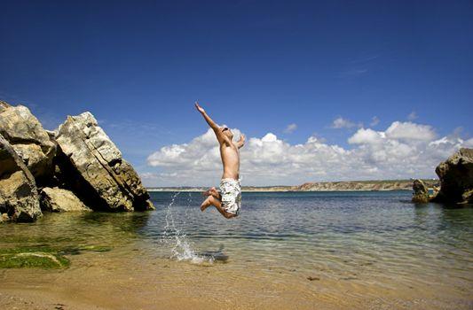 Energetic jump