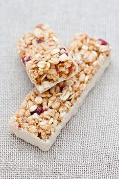 Cranberry energy bar