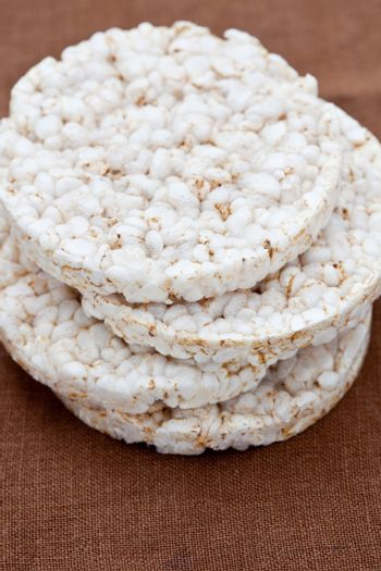 Pile of rice cakes